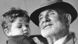 famiglia - nonno e nipote